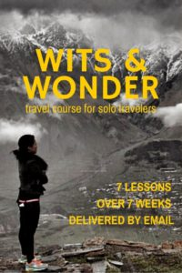 comprehensive email course on how to solo travel