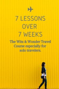course on how to solo travel